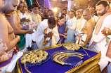चंद्रशेखर राव ने 'सरकारी खर्च' पर चढ़ाए 5 करोड़ रुपए के गहने