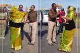 पुलिस अफसर से नोक झोक करती भाजपा विधायक चंद्रकांता का वीडियो वायरल