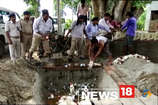 VIDEO: राघोपुर में जेसीबी से 1600 लीटर शराब नष्ट