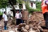 VIDEO: चमोली में फटा बादल, रात को घर छोड़कर परिवार ने बचाई जान