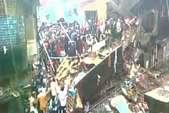 मुंबई- भिवंडी में गिरी तीन मंजिला इमारत, 6 लोगों की मौत, 12 जख्मी