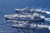 दक्षिण चीन सागर में संयुक्त नौसेना अभ्यास करेंगे चीन और रूस