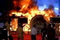 मेक इन इंडिया कार्यक्रम के मंच में लगी भीषण आग, मौजूद थी कई बड़ी हस्तियां!