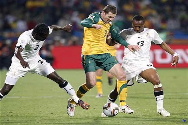 घाना और ऑस्ट्रेलिया मुकाबला बराबरी पर खत्म