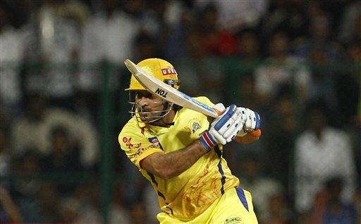 माही ने 20 गेंदो पर 51 रन की धुआंधार पारी खेली।