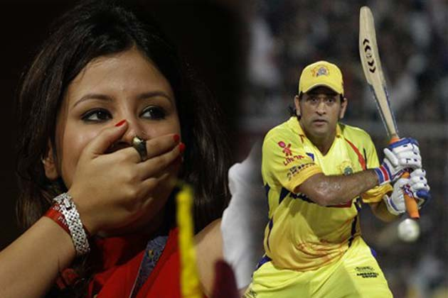 आईपीएल के एलिमिनेटर मैच में चेन्नई के कप्तान धोनी ने ऐसी पारी खेली कि 'मिसेज माही' के होश उड़ गए।