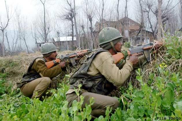 जम्मू कश्मीर: गोलीबारी में लश्कर का एक आतंकी ढेर