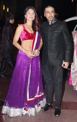 शमिता बंगगार्गी और आशीष चौधरी
