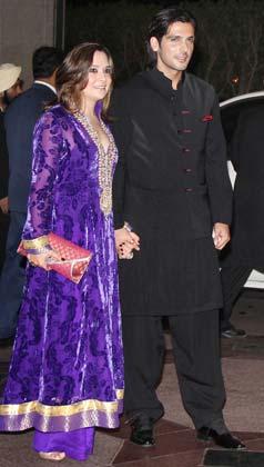 पत्नी मलाइका के साथ जायद खान