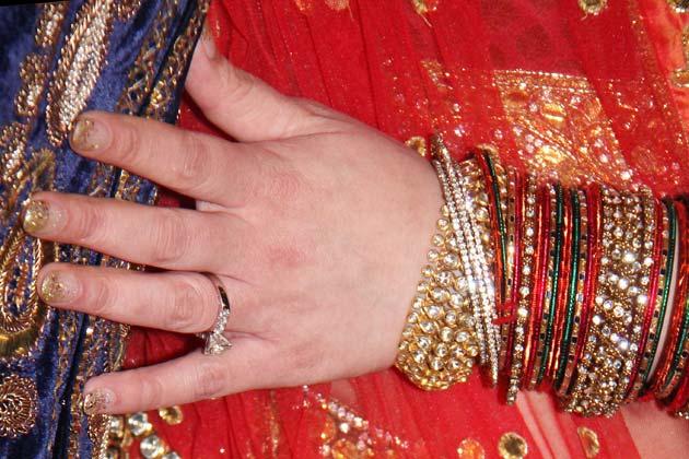 ईशा देओल की सगाई की अंगूठी