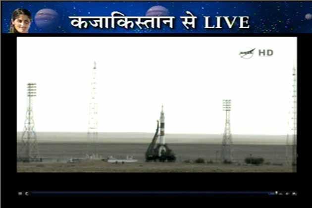 कजाकिस्तान के बाइकनूर स्पेस सेंटर से ये उड़ान भरी गई है। इस यात्रा में सुनीता के साथ दो और अंतरिक्ष यात्री भी मौजूद हैं। कुछ ही देर में सुनीता अंतरिक्ष में पहुंच जाएंगी।