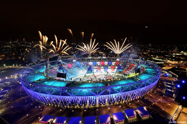 खेलों के महाकुम्भ 2012 लंदन ओलम्पिक का औपचारिक उद्घाटन भारतीय समयानुसार शुक्रवार देर रात भव्य तरीके से हुआ।