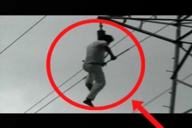 लेकिन लोगों ने सही वक्त पर बिजली विभाग को सूचना दे दी। इसके बाद बिजली विभाग ने तुरंत हाई टेंशन वायर की बिजली काट दी।