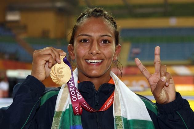 गीता फोगट ओलिंपिक में शिरकत करने वाली भारत की पहली महिला पहलवान हैं।