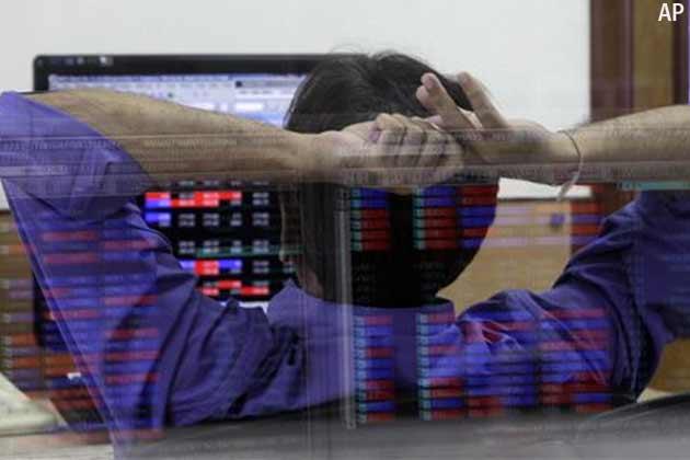 शेयर बाजार में गिरावट, सेंसेक्स 40 अंक नीचे गिरा