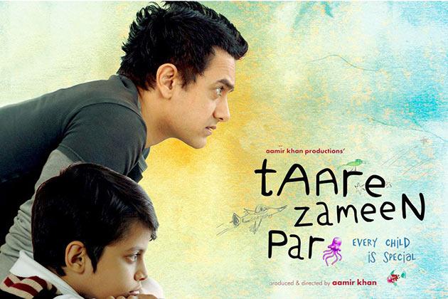 2008 में आमिर खान की तारे जमीं पर।