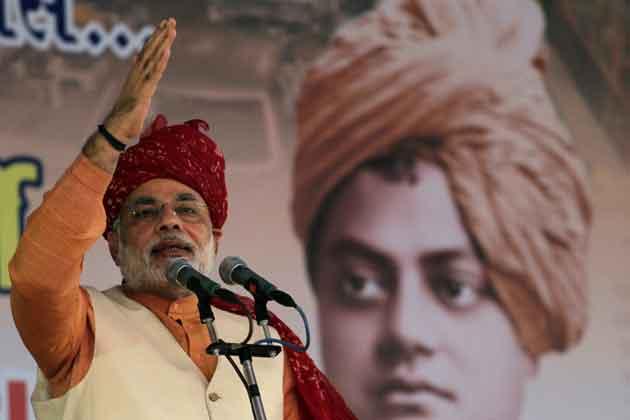7 अक्तूबर, 2001 से अब तक लगातार गुजरात राज्य के मुख्यमंत्री हैं।