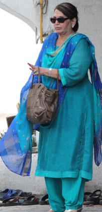सलमान खान की दूसरी मां हेलेन।