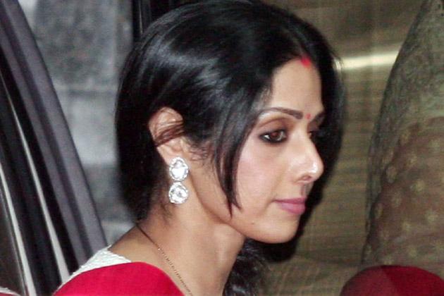 बोनी के साथ श्रीदेवी भी मौजूद थी।