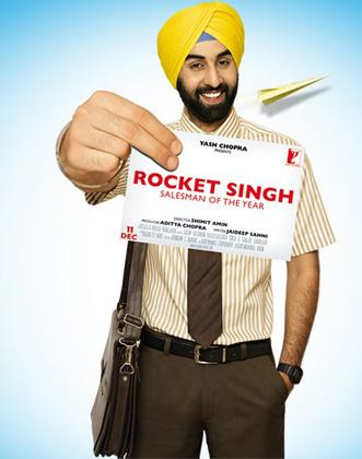 <br /> <br /> <br /> फिल्म रॉकेट सिंह में रणबीर।<br />