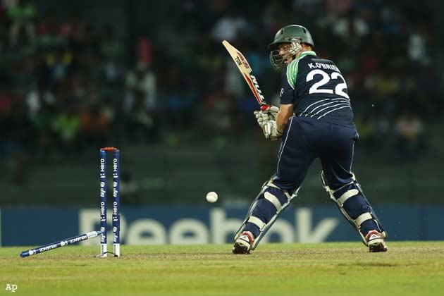 वेस्टइंडीज सुपर-8 में, आयरलैंड ने कटाया घर का टिकट