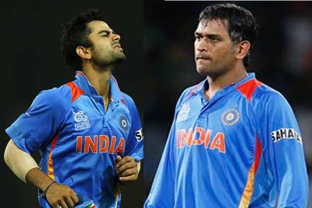 टीम इंडिया को टी-20 वर्ल्ड कप से बाहर होते ही मैदान पर ही विराट कोहली और रोहित शर्मा रो पड़े, जबकि धोनी के चेहरे पर भी मायूसी छा गई।