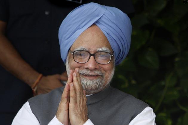 प्रधानमंत्री मनमोहन सिंह ने लगाया भाषणों का शतक