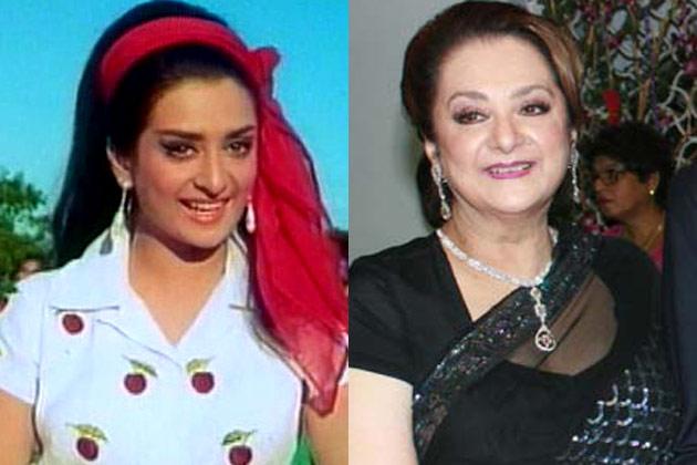दिलीप कुमार की पत्नी और अभिनेत्री सायरा बानू 68 साल की हो चुकी हैं।