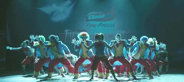 ये भारत की पहली 3डी डांस फिल्म है।