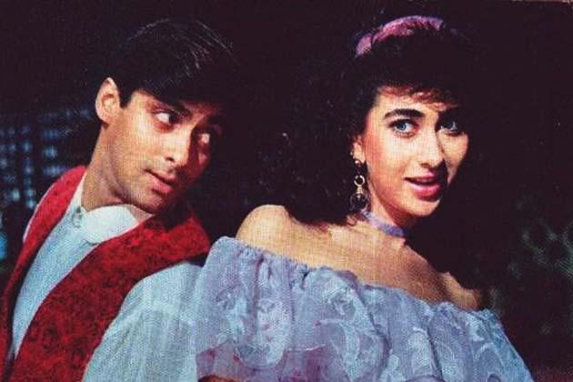 90 के दौर में सलमान ने करिश्मा कपूर के साथ भी कई फिल्में साइन की थीं।