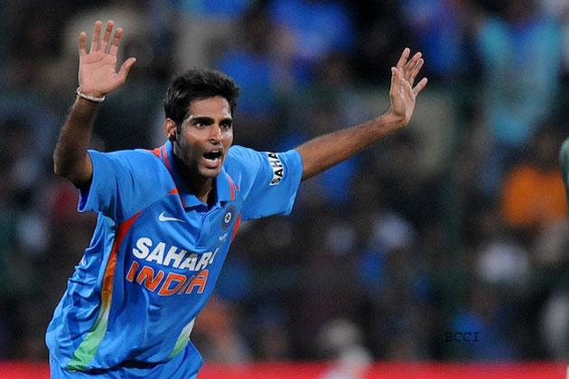 भुवनेश्वर की सधी गेंदबाजी ने टीम इंडिया को बंधाई आस