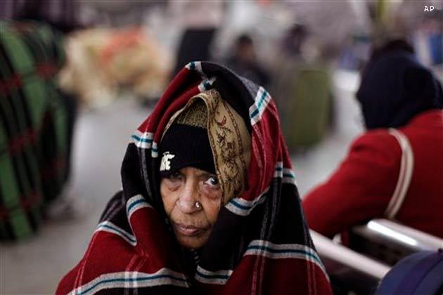 ठंड के कारण चिल ब्लेंस का शिकार हो रही महिलाएं
