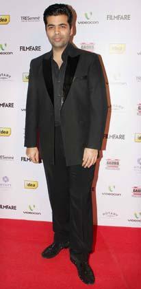 फिल्ममेकर करन जोहर ने भी पार्टी में शिरकत की।