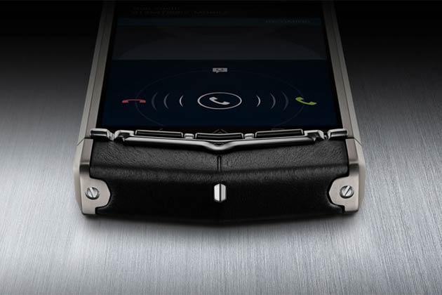 180 ग्राम वजनी 'वर्टू टीआई' सैमसंग गैलेक्सी एस-3 और आईफोन-5 से ज्यादा वजनी है।