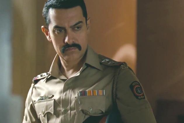 फिल्म 'तलाश'में आमिर का लुक।