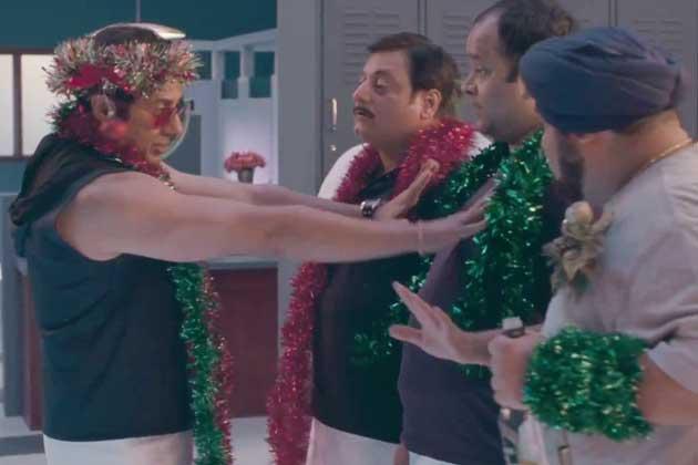 सनी ने अपनी फिल्म 'आई लव न्यू ईयर' के बारे में बताते हुए कहा कि यह फिल्म रोमांटिक कॉमेडी फिल्म है।