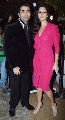 भंसाली की बर्थडे पार्टी में करण जौहर और कटरीना कैफ ने भी शिरकत की।
