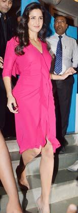 भंसाली की बर्थडे पार्टी में अभिनेत्री कटरीना कैफ ने भी शिरकत की।
