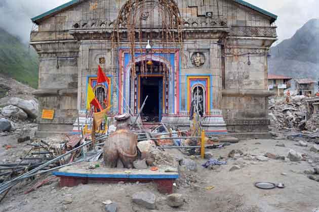 केदारनाथ मंदिर रवाना हुई ASI की टीम