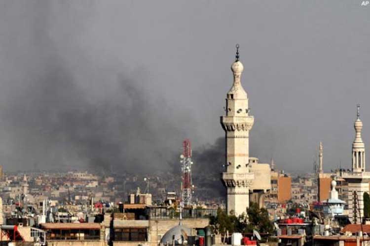 सीरिया में विद्रोहियों का रॉकेट हमला, 20 लोगों की मौत