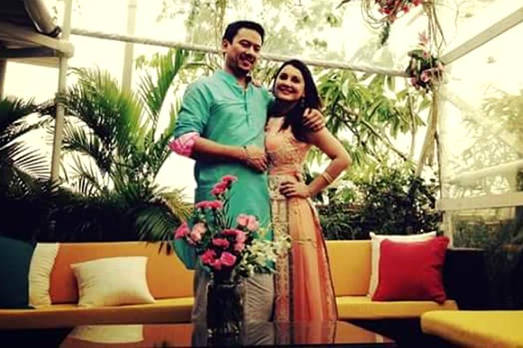 Image result for मिनिषा लांबा पति