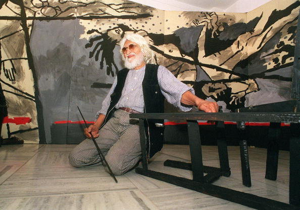 India's most renowned artist Maqbool Fida Husain i