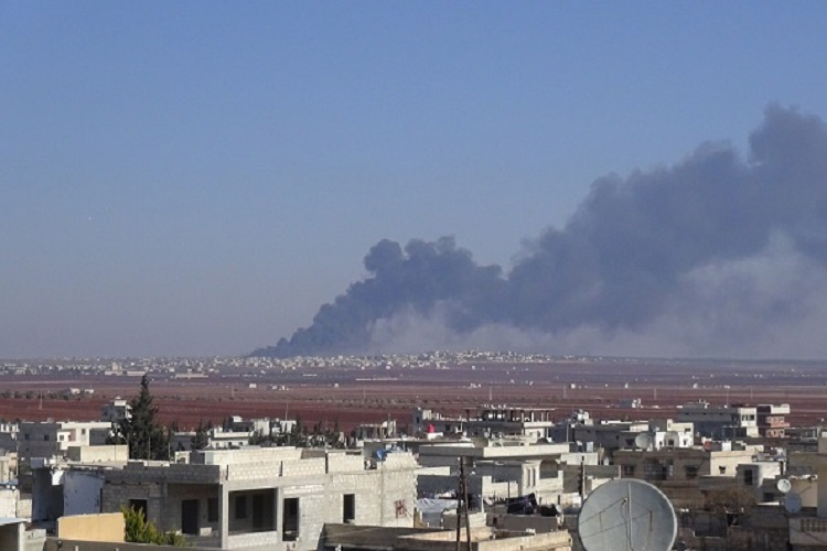 सीरिया में रूस के संदिग्ध हमले में 39 लोगों की मौत