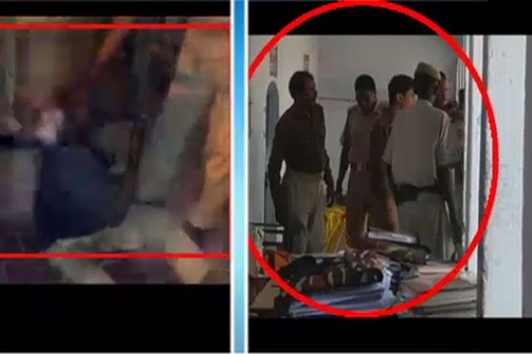 देखें: सामने आई यूपी पुलिस की बेरहमी