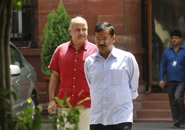 Delhi Chief Minister Arvind Kejriwal Meets Prime Minister Narendra Modi