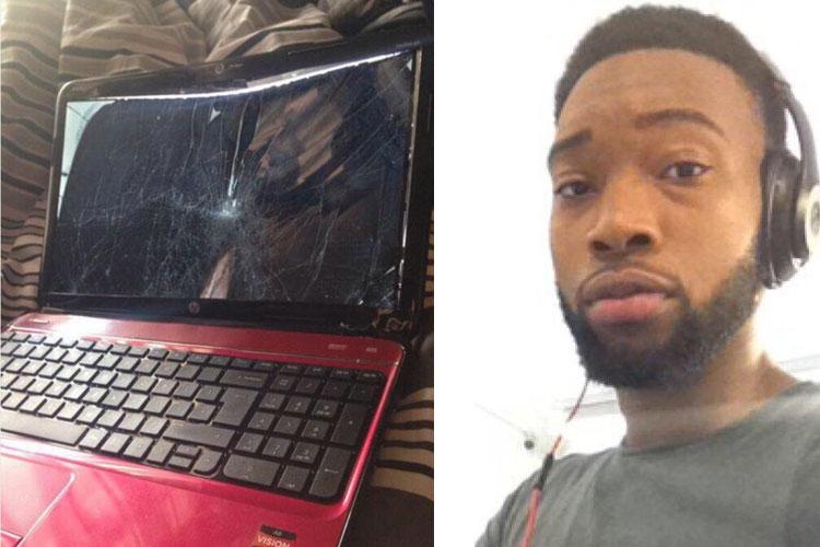मां के कदमों की आहट सुन तो़ड़ा लैपटॉप, पॉर्न वेबसाइट ने नया गिफ्ट किया