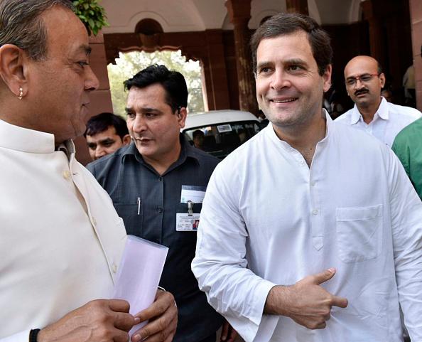 बोले राहुल, खुश हूं कि मुझे टारगेट किया जा रहा है