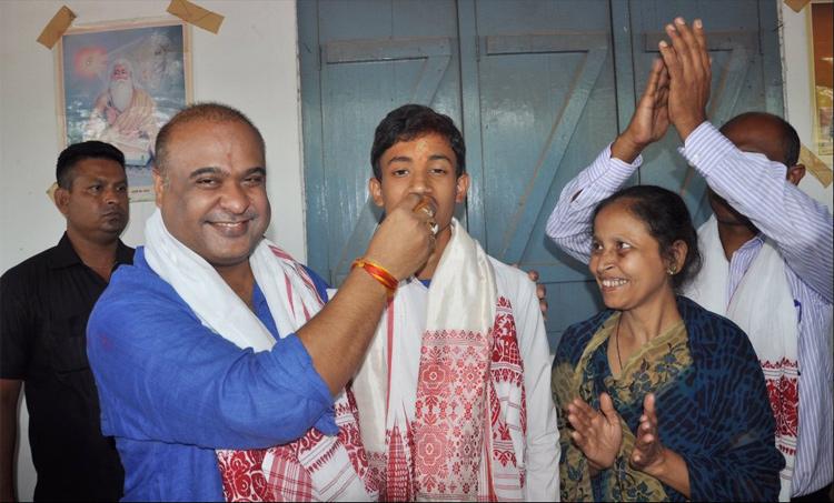 RSS के स्कूल से पढ़े मुस्लिम छात्र ने किया असम में टॉप, संस्कृत में है मास्टर