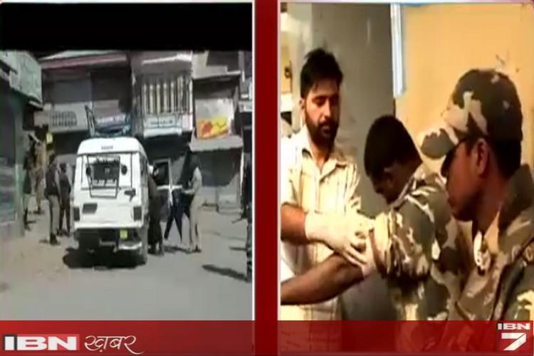 शोपियां में सीआरपीएफ की पेट्रोलिंग टीम पर ग्रेनेड हमला, 9 घायल