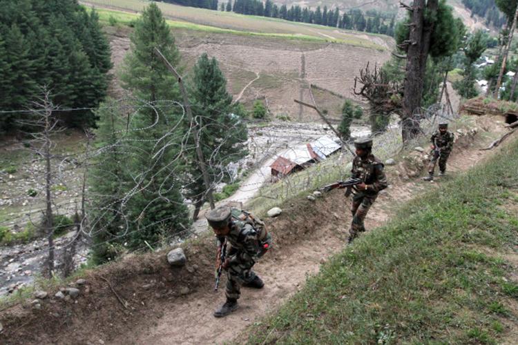 Image result for माछिल सेक्टर में पाकिस्तानी सेना